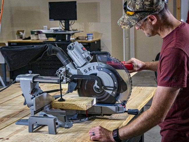 Dramatically Improve Efficiency and Safety by Using a Miter Saw 1
