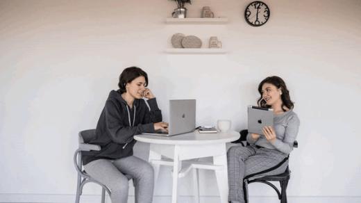remote working team