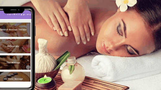 Uber for massage service app