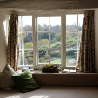 Different Window Trends window curtain open wide