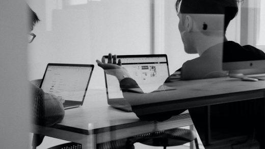 Paul Haarman man using MacBook