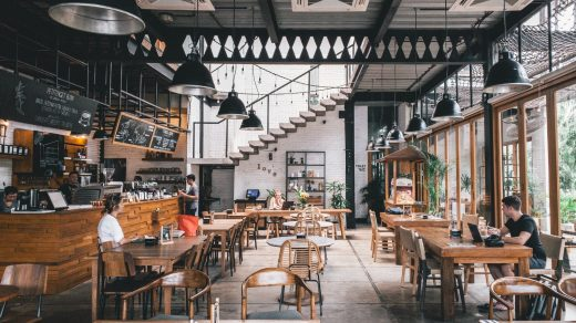 Restaurant Business Start Guide brown and gray concrete store