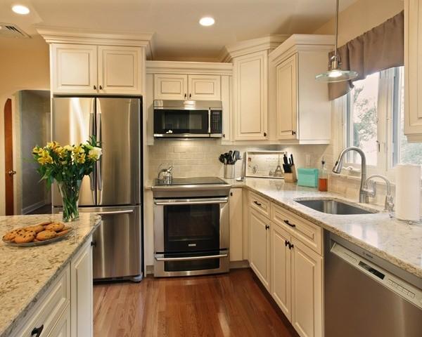 Vintage white Kitchen Cabinets