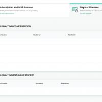 Kaspersky License Management Portal