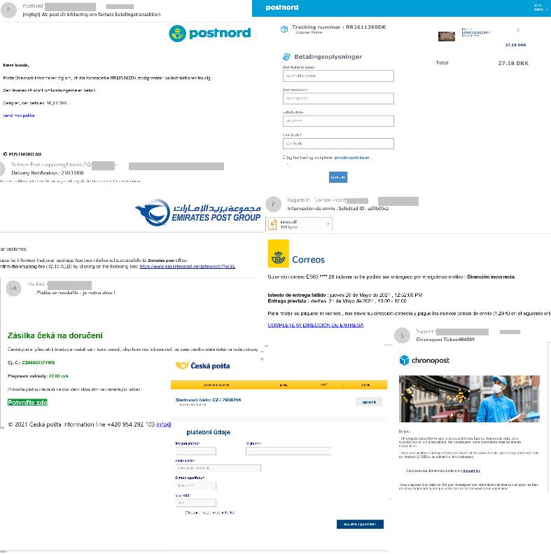 Fake deliveries