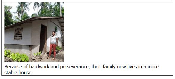 Marinduque 4Ps success story
