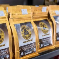 packaging Solong pea berry special pack lot on shelf