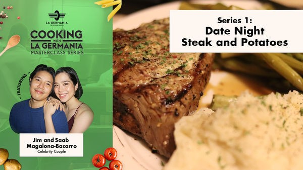 Saab Magalona-Bacarro and La Germania Share the Secret to Making the Perfect Steak Dinner 1